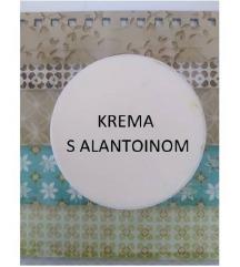 Krema s alantoinom - pužev gel za obnovu kože