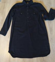 Crna duga košulja od trapera