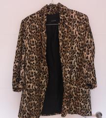 Zara leopard print sako