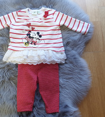 Minnie & Mickey ❤ komplet bebe