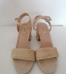 Pull&Bear raffia sandale