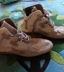 Diesel vintage retro kožne cipele