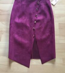 NOVA bordo suknja