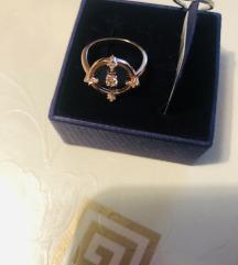 Swarovski prsten veličina 52