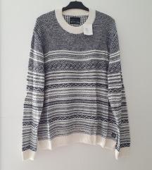 Muški nenošeni pulover 3XL