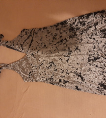 Pliš haljina H&M