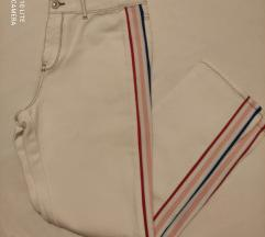 Bijele jeans hlače