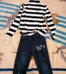 Zara dolčevita i zara jeans