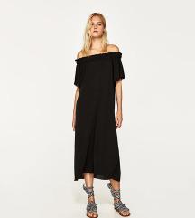 Nova Zara haljina sa spuštenim ramenima