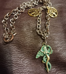 handmade vintage ogrlica