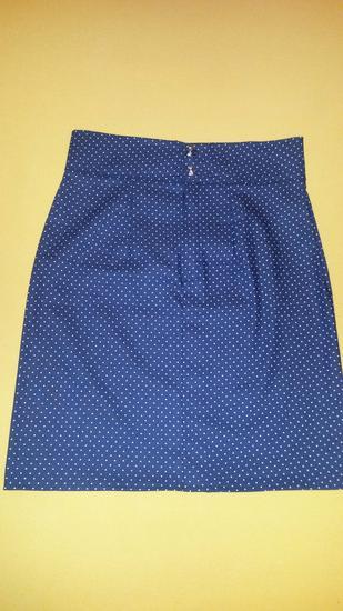 Točkasta suknja, šivana unikat**
