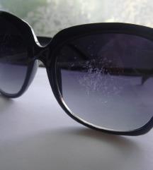 MANGO velike crne sunčane naočale