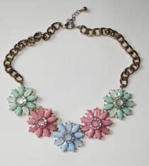 Nova statement ogrlica cvijeće