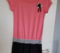 Diadema roza haljina