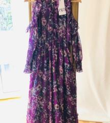 Rezervirano Zara haljina cvjetasta M