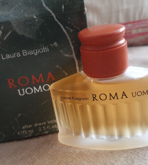 Laura Biagiotti Roma Uomo, after shave