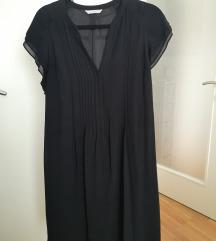 Crna HM haljina s pojasom