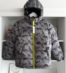 H&M dino zimska jakna 140. Nova s etiketom!