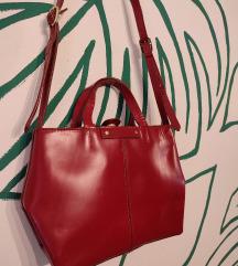 AKCIJA - Zara torba od prave bizonove kože