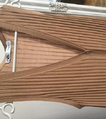 Zara duga pletena haljina