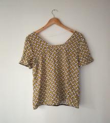 Zara majica boje senfa