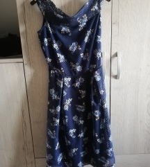 Diadema plava haljina like Self Portrait