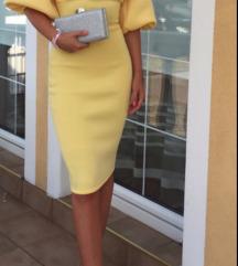 Žuta Asos haljina