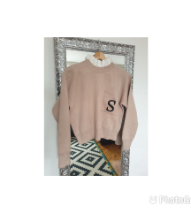 Sandro Paris pulover sa ovratnikom - kratko nosen