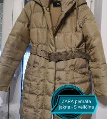 Zara pernata jakna
