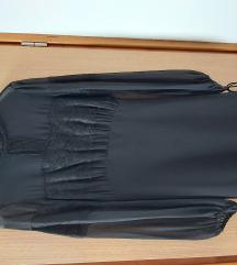 Mango mini crna haljina