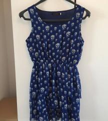 ljetna plava haljinica