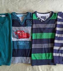 Lot majice/puloveri dugih rukava 116
