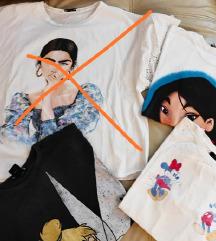 Kratke majice, s-M
