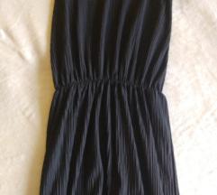 Crna haljina na bretele