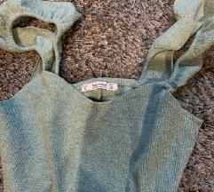 Zelena MIDI haljina
