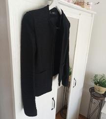 Mango crna bukle sako/jakna