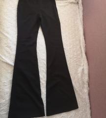 Crne trapez hlače s PT