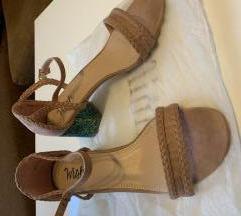 Wish Shoebox sandale na nisku petu