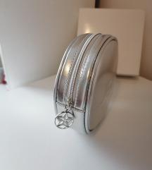 Dior srebrna krug torba