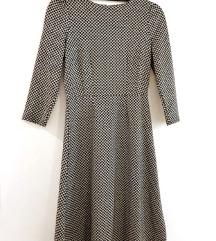 RESERVED mini pepita haljina