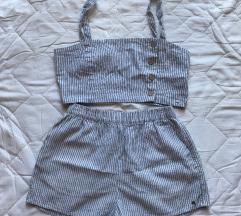 PULL&BEAR komplet crop top i hlačice