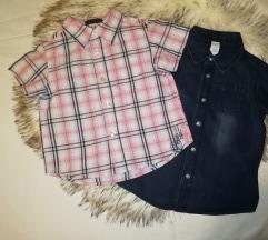 Košulje kratkih rukava C&a i H&m