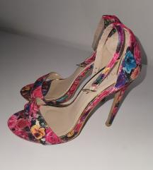 Sandale visoka peta