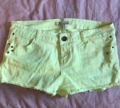 Bershka tirkizne kratke hlače