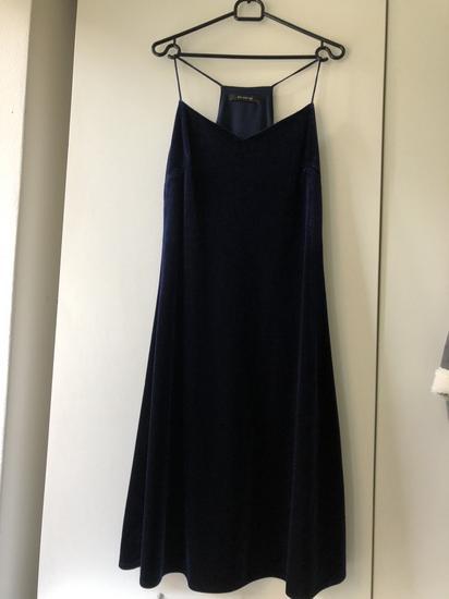 JEDNOM NOŠENA Reserved baršunasta haljina