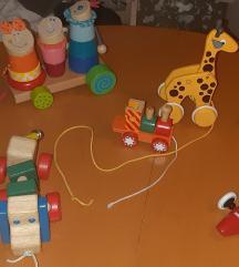 Drvene didaktičke igračke