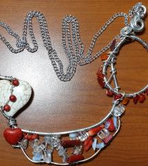 ☆ NOVA ☆ unikatna ogrlica