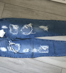 Missguided hlace jeans M