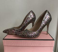 Sljokaste srebrne cipele