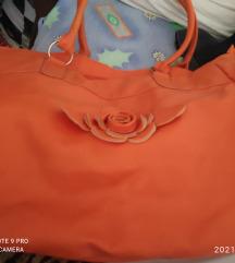 Velika narančasta torba